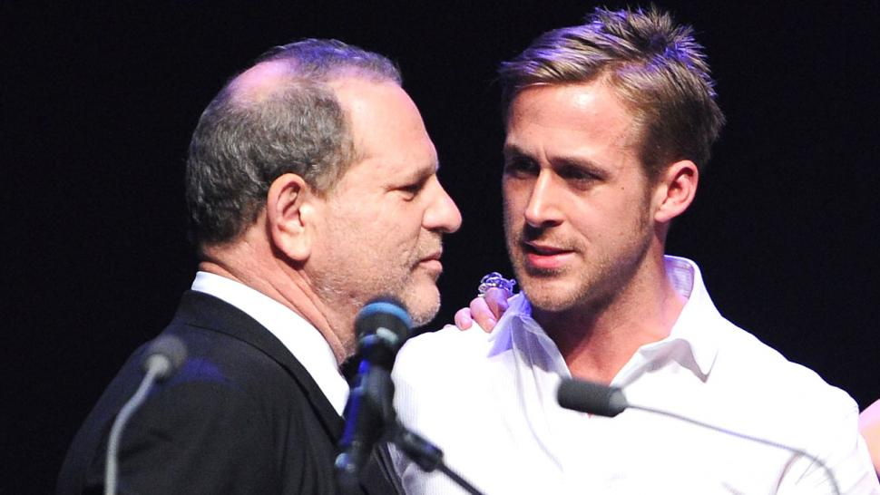 Ryan Gosling and Harvey Weinstein