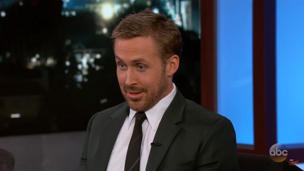 Ryan Gosling on 'Kimmel'