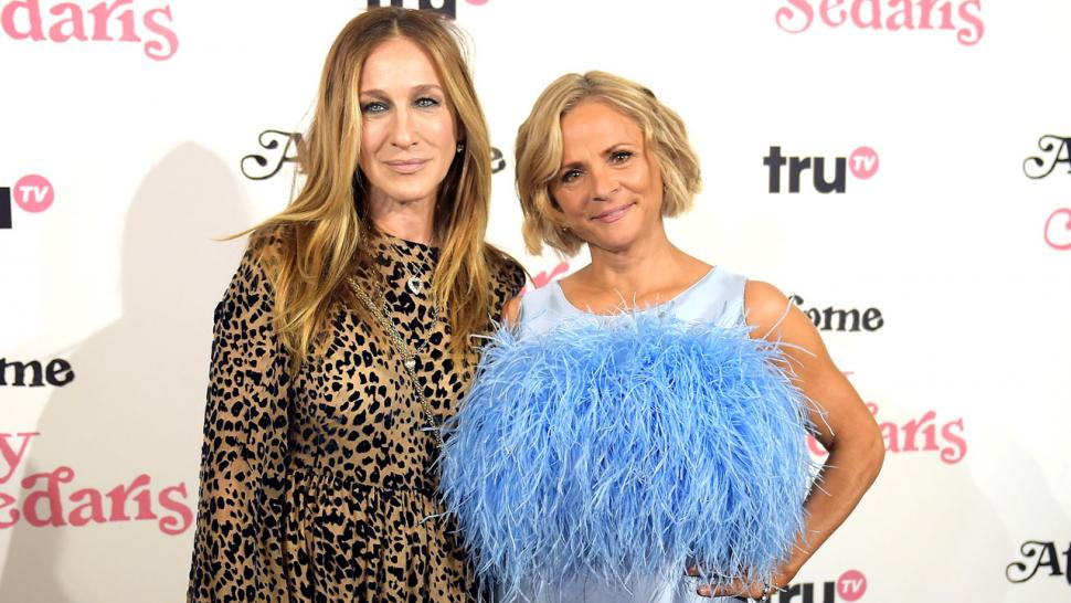 Sarah Jessica Parker and Amy Sedaris