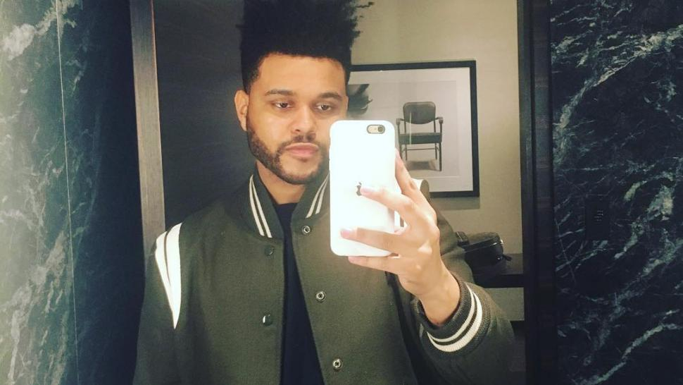 the_weeknd_selfie_post_split_instagram