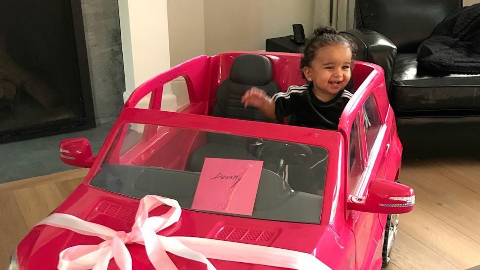 Rob Kardashian And Kim Celebrate Dreams First Birthday