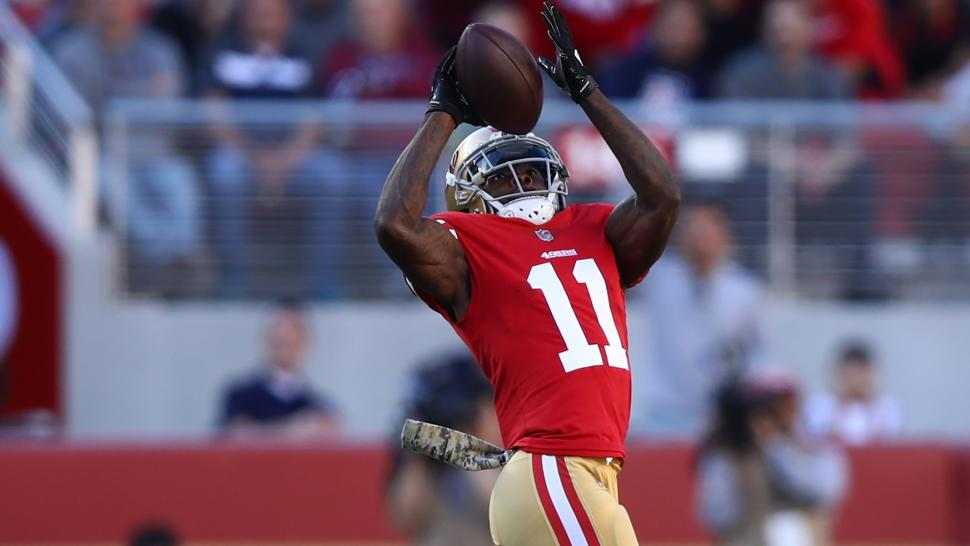 goodwin 49ers nfl game vs giants