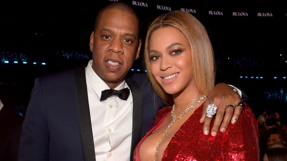 Beyonce and Jay Z 2017 grammys