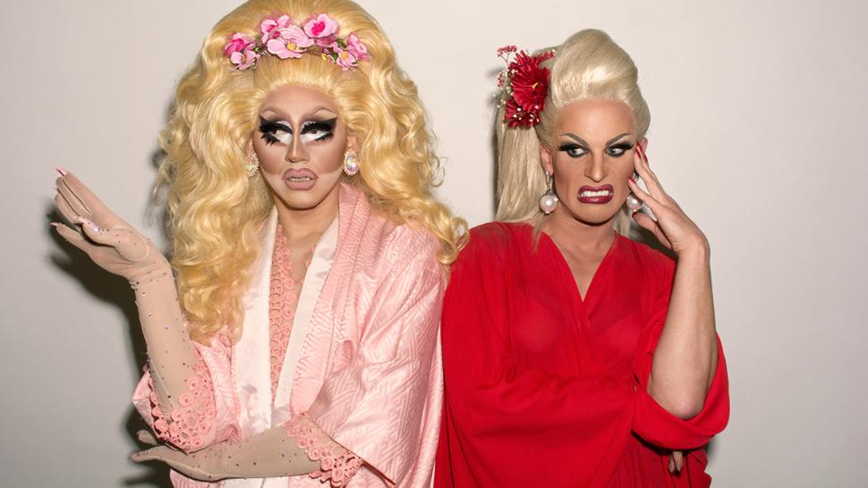 Trixie and Katya