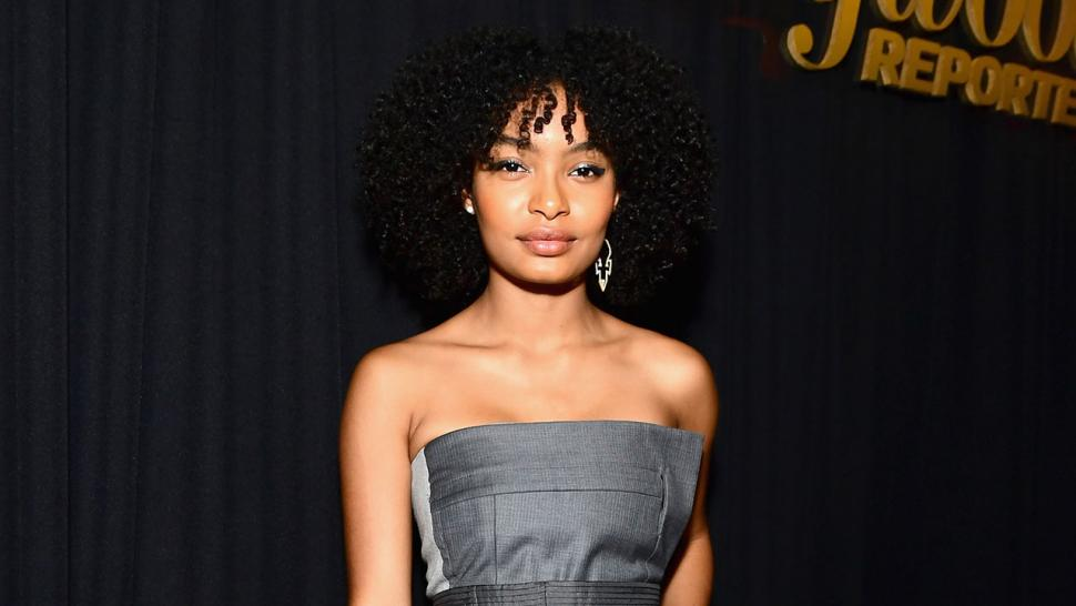 Yara Shahidi at THR party