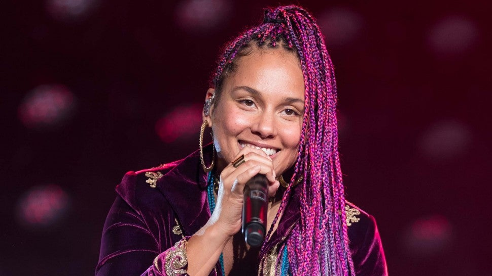 Alicia Keys at the 8th Annual Concert for UCSF Benioff Children's Hospitals benefit