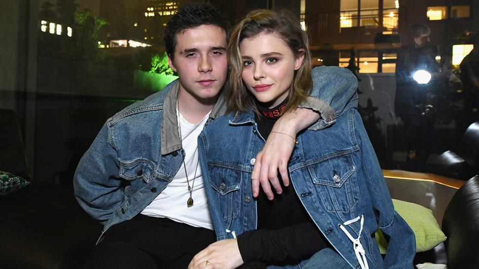 Brooklyn Beckham and Chloe Grace Moretz