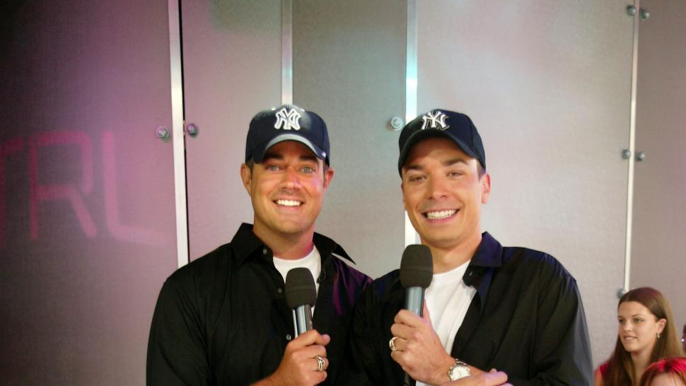 Carson Daly and Jimmy Fallon
