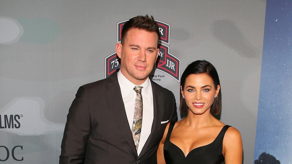 Channing Tatum and Jenna Dewan Tatum at 'War Dogs'