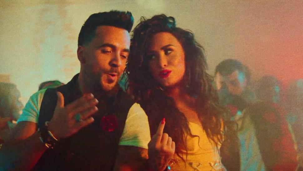 Demi Lovato and Luis Fonis Music video