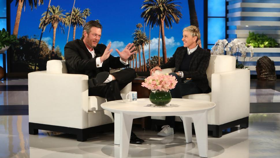 Blake Shelton on 'The Ellen DeGeneres Show'