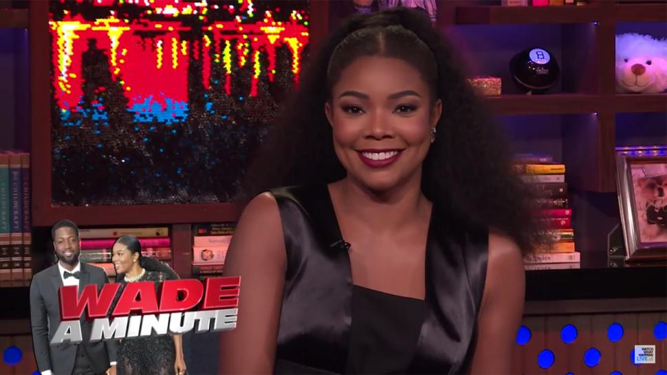 Gabrielle Union talks about her marriage on 'WWHL'