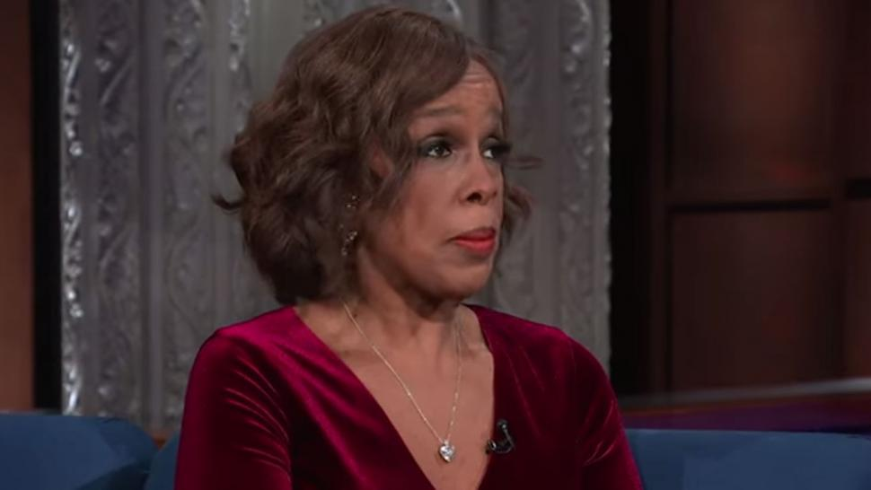 Gayle King on Late Show