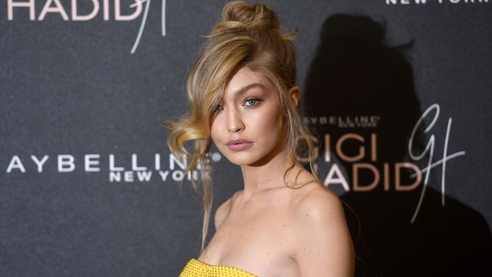 Gigi Hadid at Maybelline Event in London