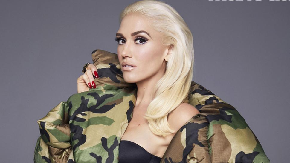 Gwen Stefani in Marie Claire