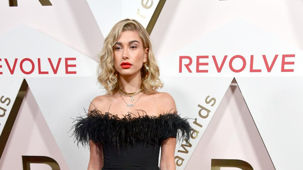 Hailey Baldwin at #RevolveAwards