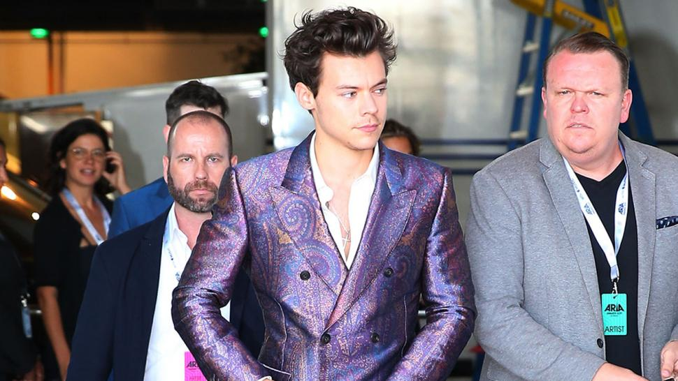 Harry Styles at the Aria Awards