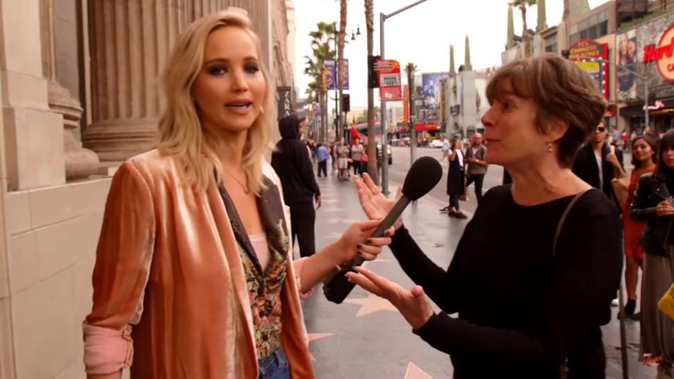 Jennifer Lawrence on Jimmy Kimmel Live