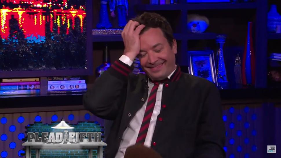 Jimmy Fallon on 'WWHL'