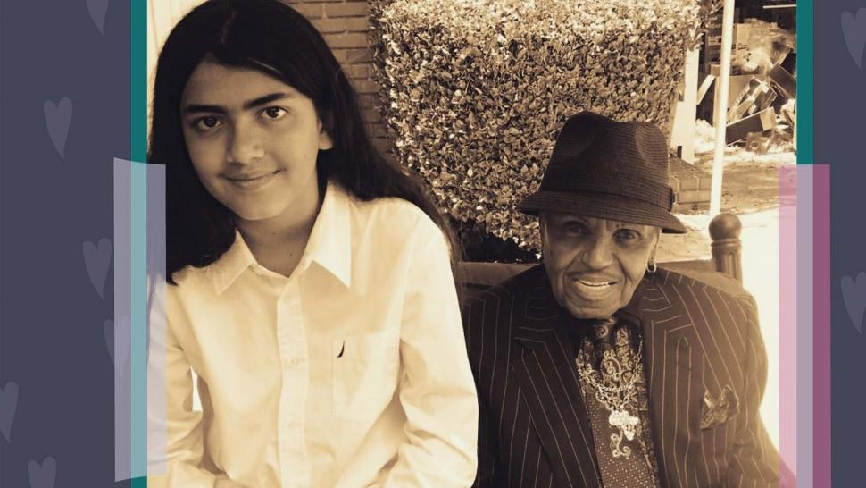 Blanket Jackson and Grandfather Joe Jackson
