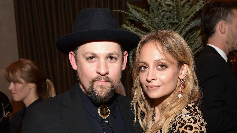 Joel Madden and Nicole Richie at Baby2Baby Gala