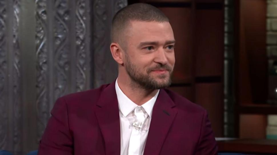 Justin Timberlake on 'Late Show'