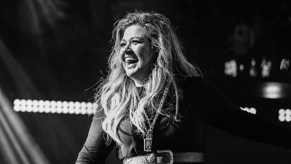 Kelly Clarkson at iheartradio album release party