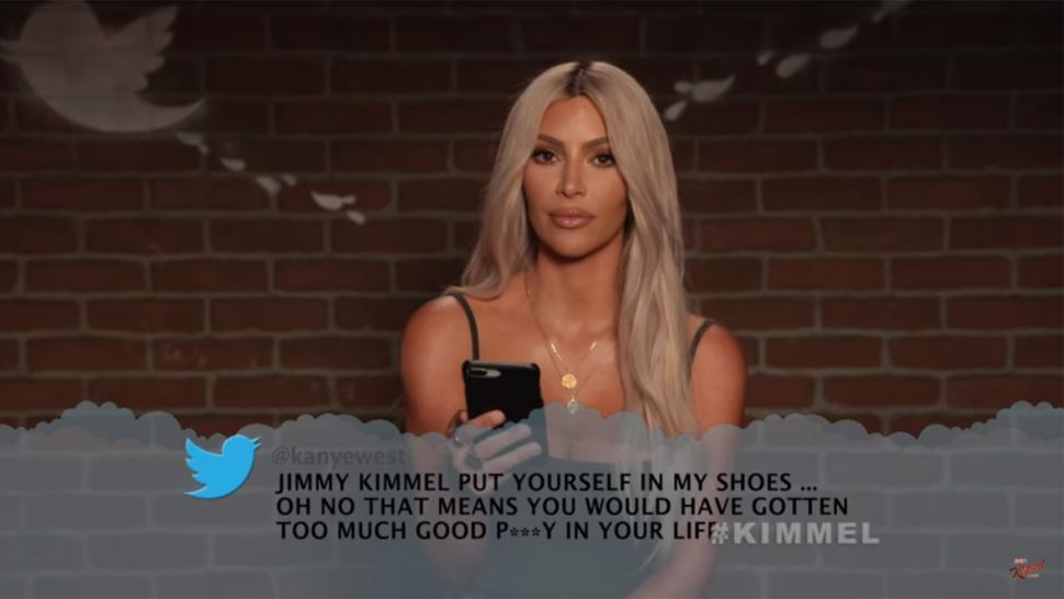 Kim Kardashian Reads Kanye West's 'Mean Tweet' About Jimmy ...