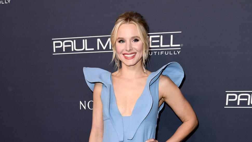 Kristen Bell at Baby2Baby