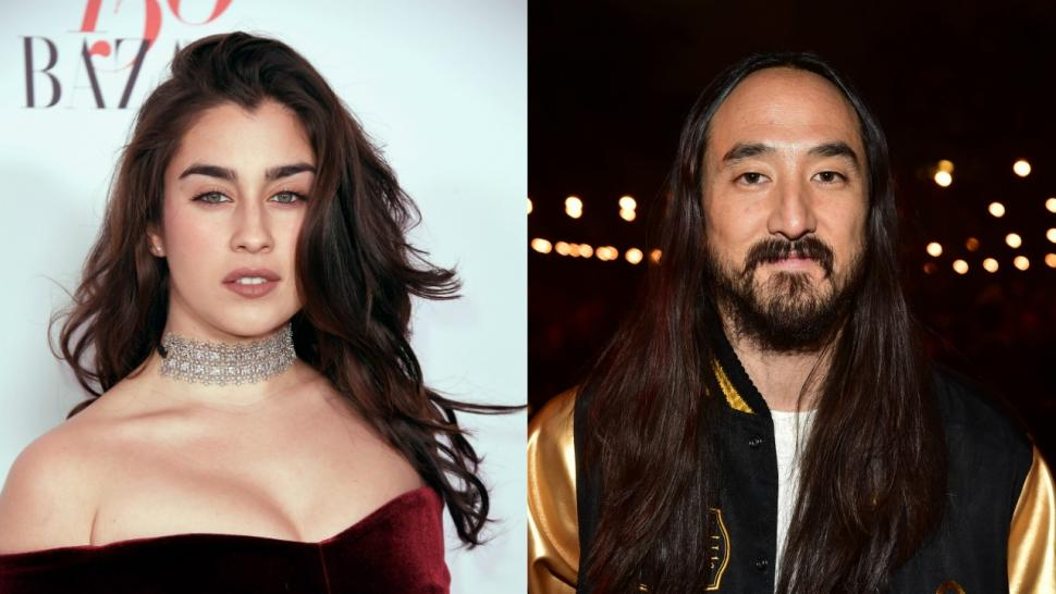 Lauren Jauregui and Steve Aoki