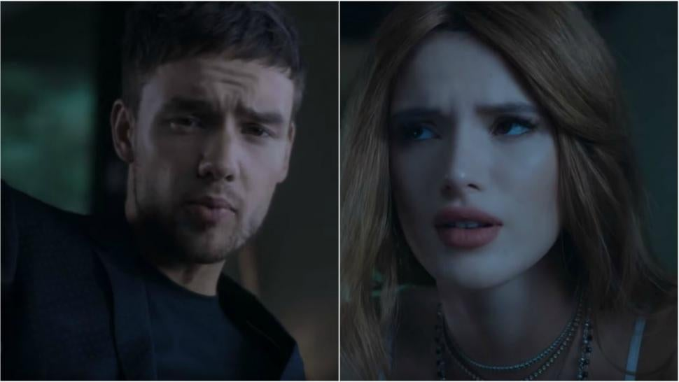 Liam Payne S New Bedroom Floor Music Video Puts Bella Thorne
