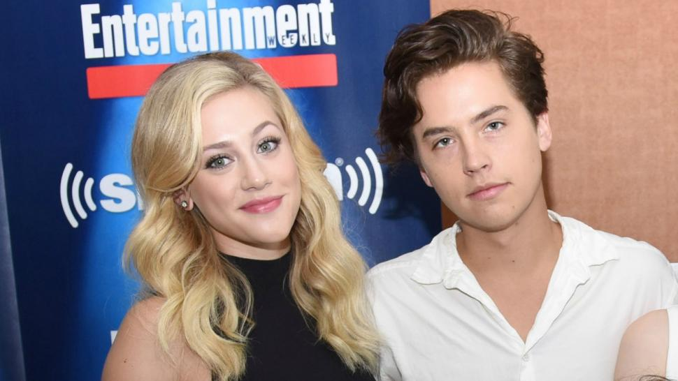Cole Sprouse & Lili Reinhart Seal it with a Kiss in Paris!
