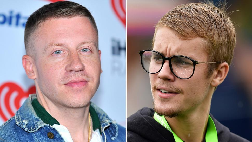Macklemore has a nude painting of Justin Bieber