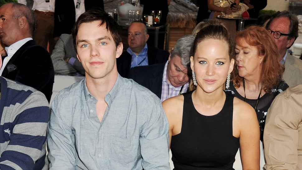 Nicholas Hoult Says He Sees Ex-Girlfriend Jennifer