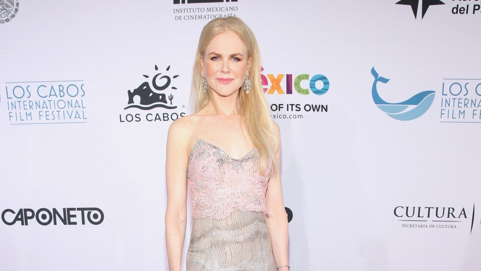 Nicole Kidman at the 6th Los Cabos International Film Festival.