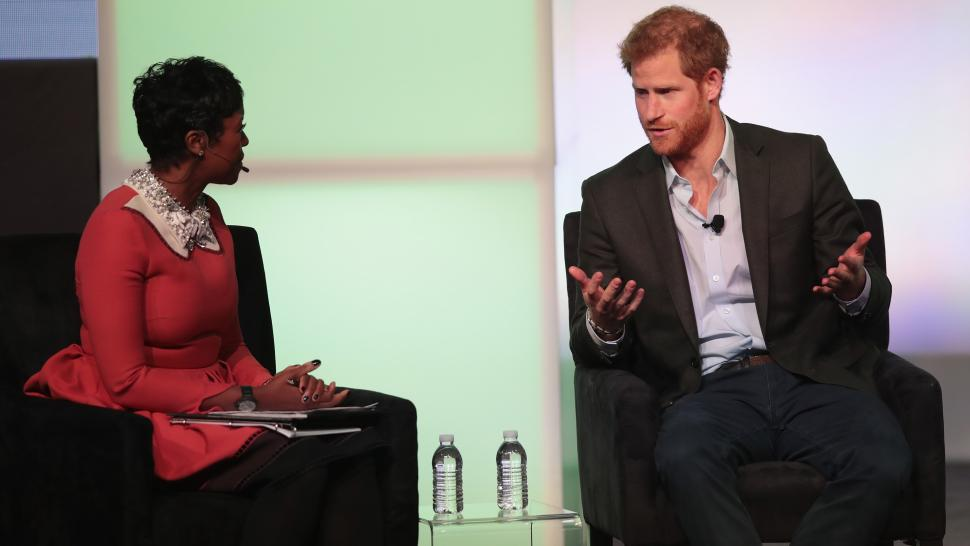 Prince Harry at Obama Summit