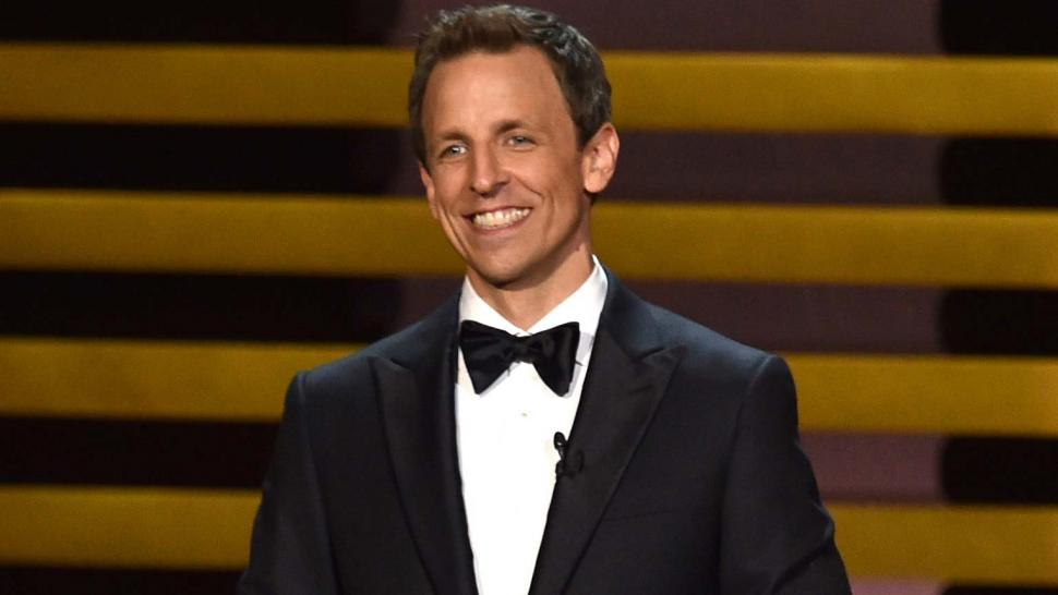 Seth Meyers Hosting the 66th Annual Primetime Emmy Awards