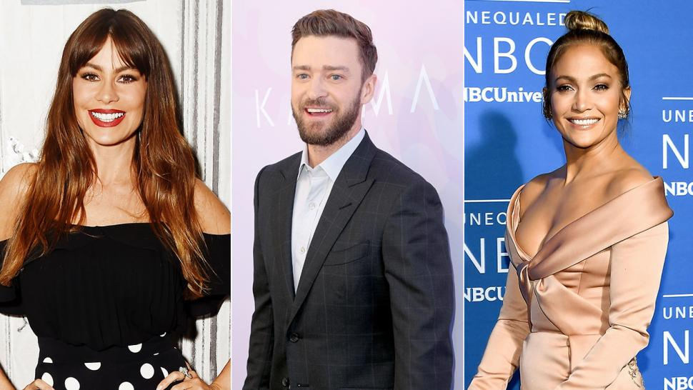 Sofia Vergara, Justin Timberlake, Jennifer Lopez celebrate Thanksgiving