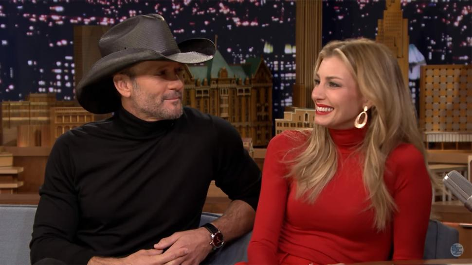 Tim McGraw and Faith Hill on 'Tonight Show'