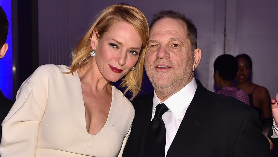 Uma Thurman talks Harvey Weinstein