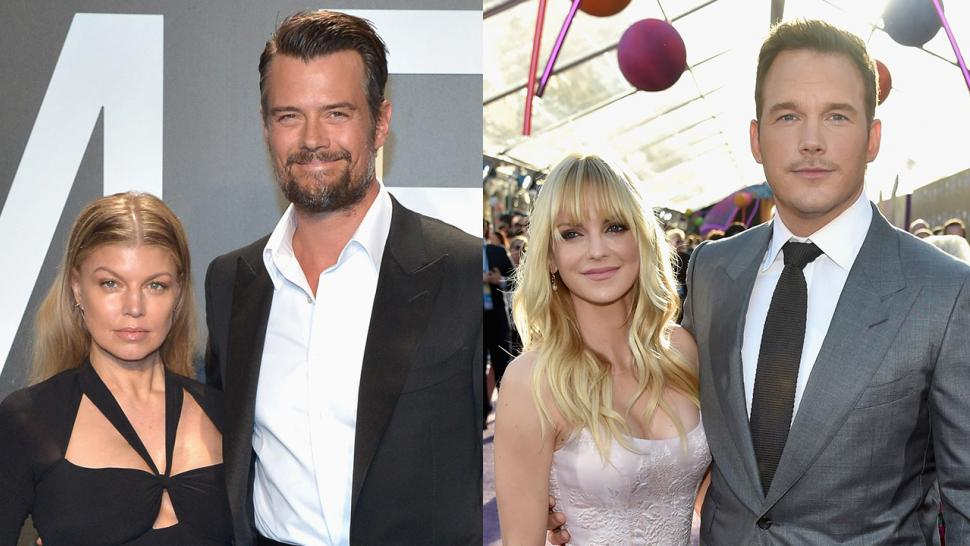 Fergie and Josh Duhamel, Chris Pratt and Anna Faris