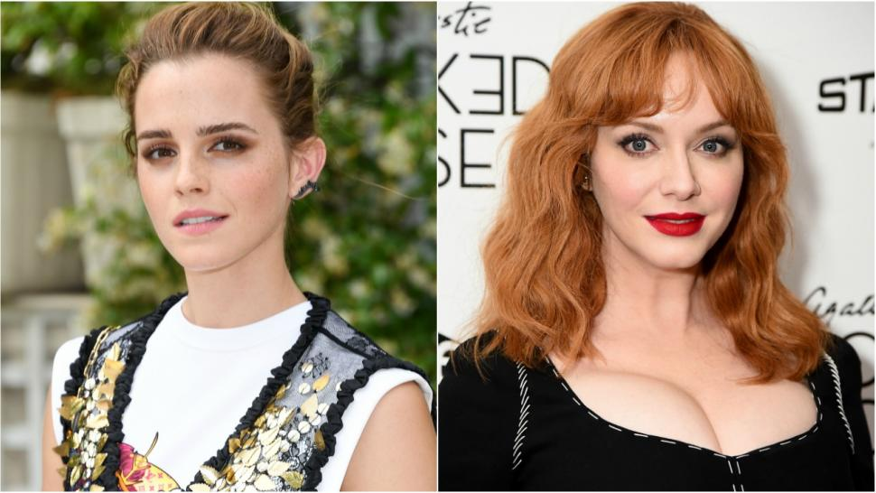 Emma Watson And Christina Hendricks To Present At 2018