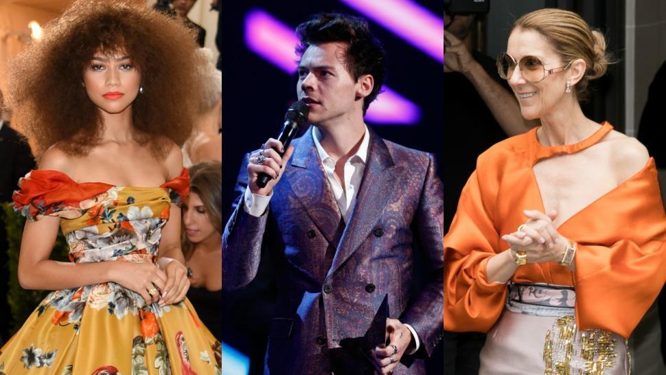 Best Dressed Celebs Of 2017 Zendaya Harry Styles Amp More