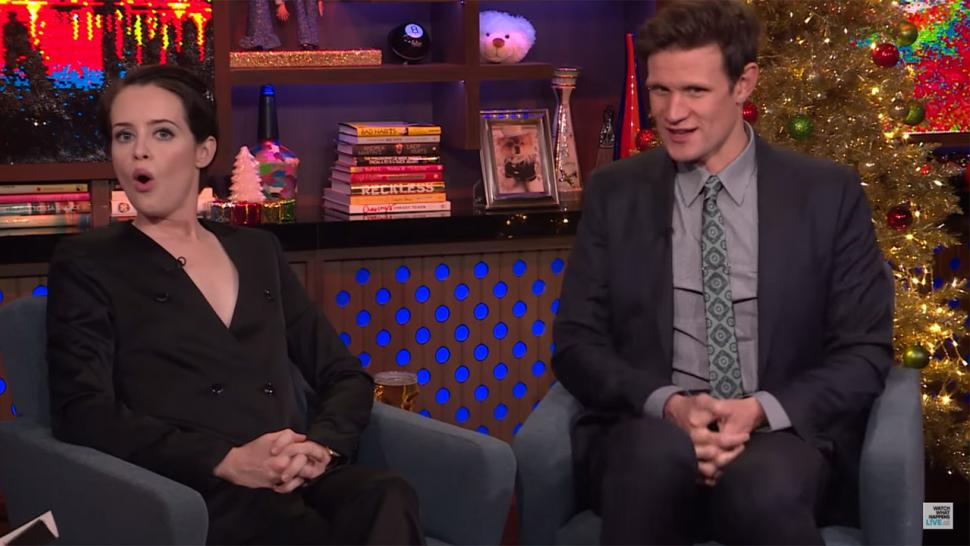 Claire Foy and Matt Smith on 'WWHL'