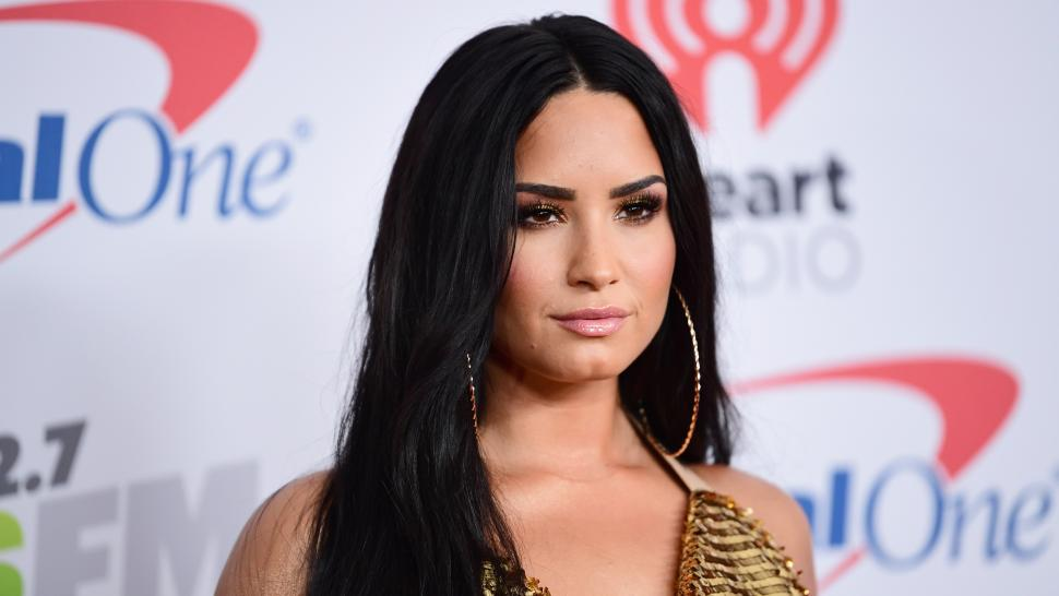 Demi Lovato at Jingle Ball 2017