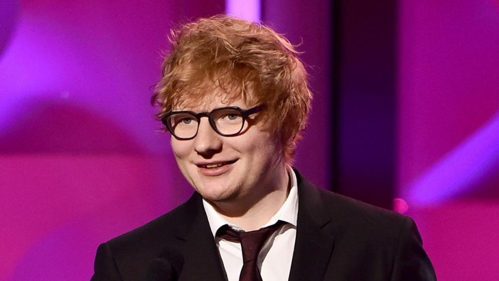 Ed Sheeran Celebrates His GRAMMYs Wins With His Cats After
