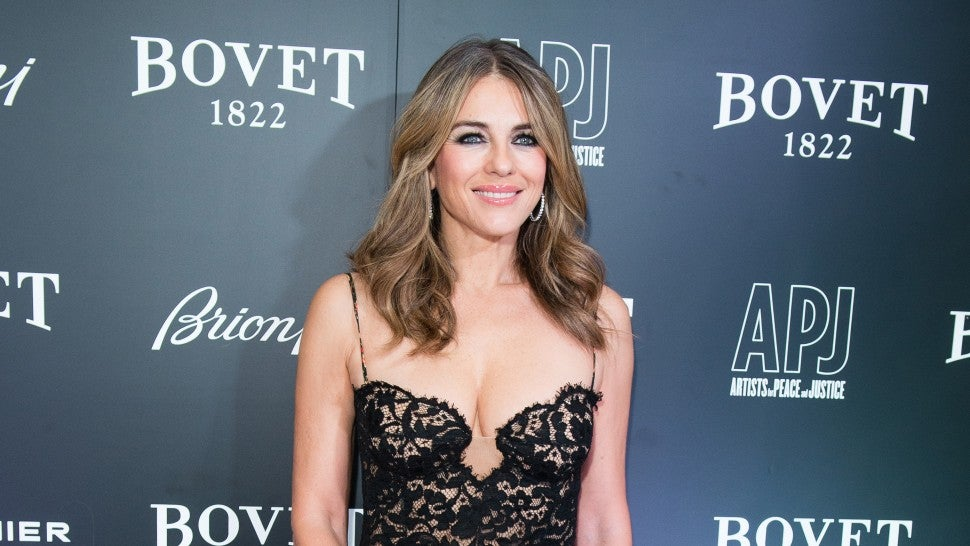 Elizabeth Hurley at Brilliant Is Beautiful gala