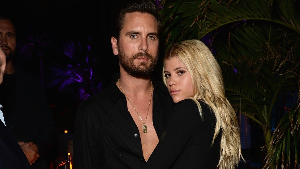 Scott Disick and Sofia Richie at Art Basel
