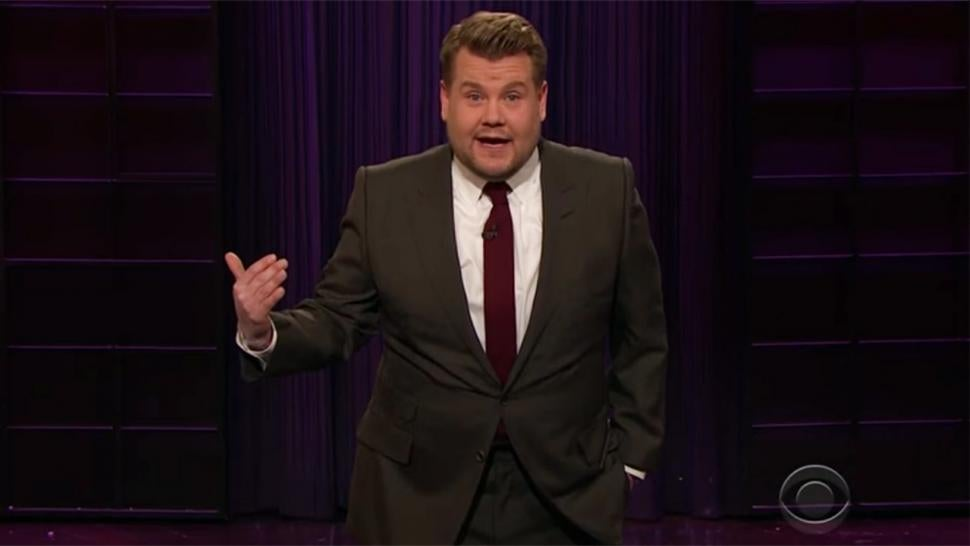 James Corden Told the Nurse He Named His Newborn Daughter Beyonce