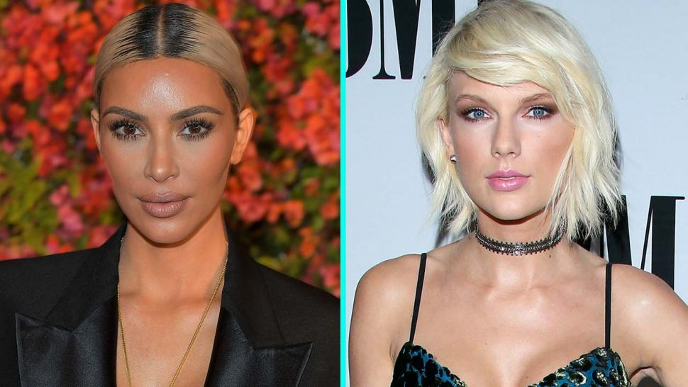 Kim Kardashian sending some love to Taylor Swift this Valentine's Day